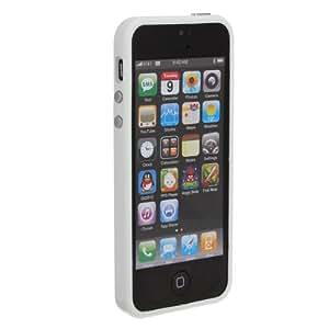 Ultra Slim Delgado TPU capítulo de parachoques de la cubierta de la caja para el iPhone 5 5S Opción: Azul