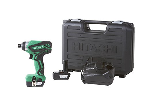 Hitachi WH10DFL2 12V Peak Cordless Lithium-Ion Impact Driver Kit
