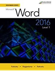 Benchmark Microsoft Word 2016 Level 1 + Access Card
