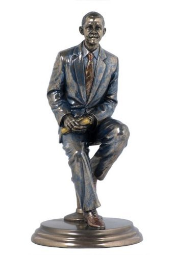 8 Statue Mr President Barack Obama African American Figure Sculpture Sitting