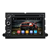 XTTEK 7 inch HD 1024x600 Multi-touch Screen GPS Navigation System for Ford Fusion 2006-2009 Ford Explorer 2006-2010 FORD F150 2004-2008 Ford Edge / Expedition 2007-2010 Quad Core Android DVD Player