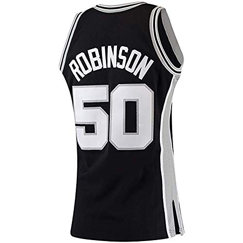 (Men_David_Robinson_Black_Hardwood_Classics_Swingman_Jersey)