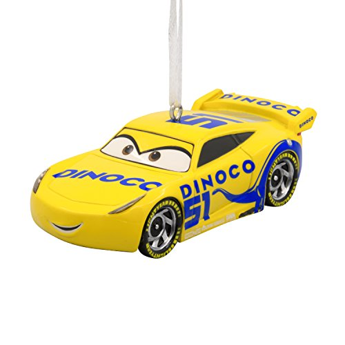 Hallmark Disney/Pixar Cars 3 Cruz Ramirez Christmas Ornament - Chow Christmas Ornament