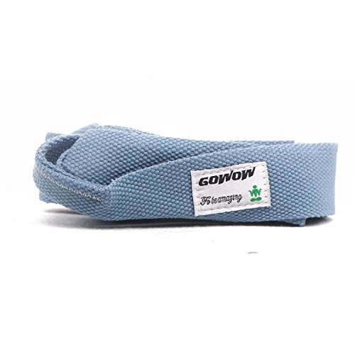 GOWOW Yoga Mat Strap Cotton Sling Carry Fitness Pilates Stretching Belt Strap