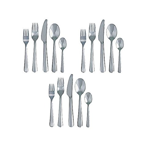 Ikea Dragon 60-Piece Flatware Set Stainless Steel