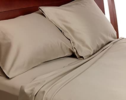 Good Pacific Coast Sealy Best Fit 300 Thread Count Cotton Sateen Queen Sheet Set,
