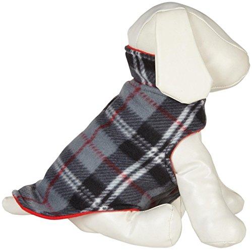 UPC 665635909731, Huxley and Kent Freestyle Fleece Jacket - Grey Plaid - Size 22