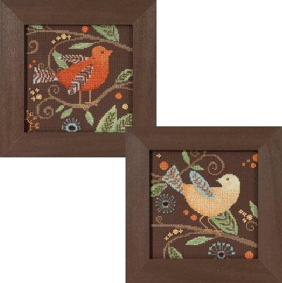 - 2 Kit Bundle: Out on a Limb, Orange Bird & Yellow Bird