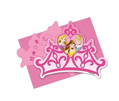 Procos - Disney Princess Tarjetas invitación con Sobres IŽm ...