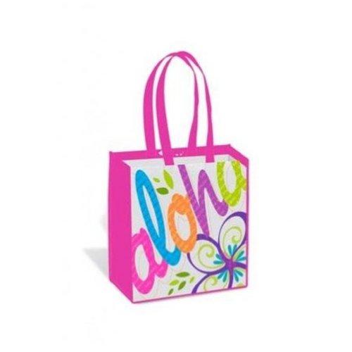 Hawaiian Bold Aloha Pink Island Tote Bag (Bag Hawaii)