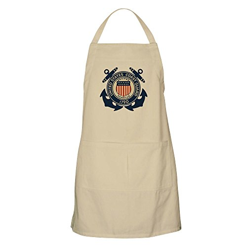 Apron-United-States-US-Coast-Guard-Seal-Khaki