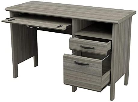 Inval 2-Drawer Engineered Wood Computer Desk - the best home office desk for the money