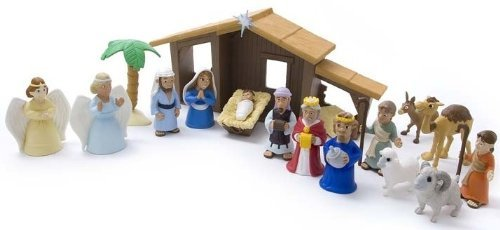 BHTB 6520M TALES OF GLORY - THE NATIVITY PLAY SET-mailer box