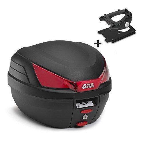 Topcase Set Yamaha MT-03 2016 Givi Monolock B27NMAL schwarz