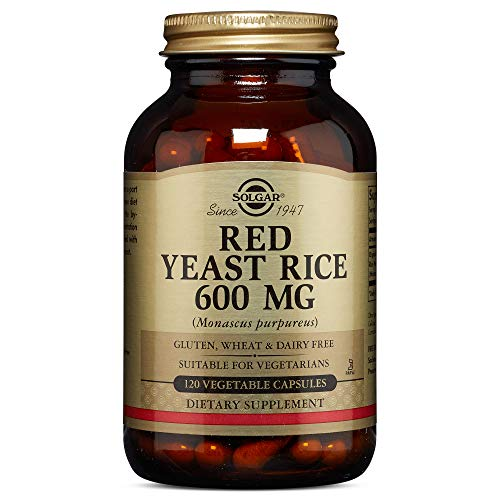 Solgar - Red Yeast Rice, 120 Vegetable Capsules