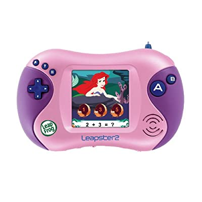 LeapFrog Leapster Learning Game Disney Princess Worlds Of Enchantment: Video Games