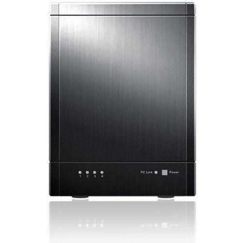 Sans Digital TR4UTBPN - 4 Bay USB 3.0 / eSATA Hardware RAID 5 Tower (black)