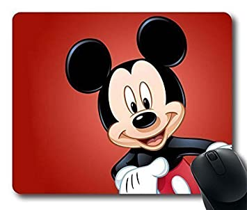 amazon com oblong shaped mouse pad gaming mickey personalized