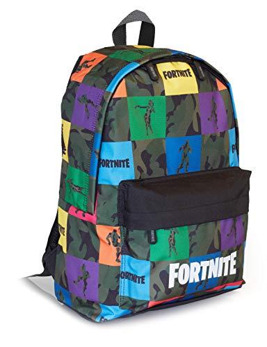 Comprar Fortnite Mochilas Escolares Juveniles Para Niños, Bolsa Con Diseño De Camuflaje Para Colegio Viajes Actividades Deporte, Merchan