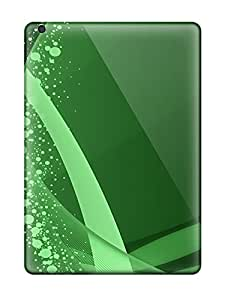 Colleen Otto Edward Design High Quality Abstract Green Cover Case With Excellent Style For Ipad Air
