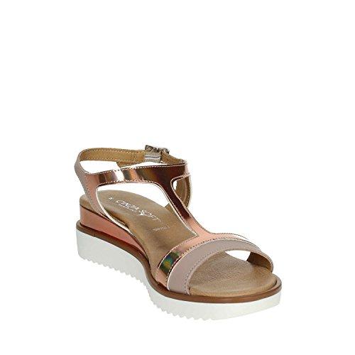 Femme 003 Rose PF1670 Soft Sandale Poudre Cinzia I6pAx6