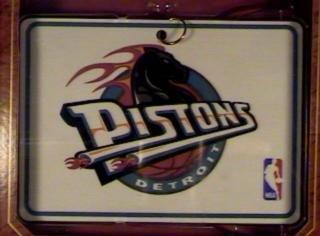 Hallmark Keepsake Ornament Detroit Pistons NBA Collection 1997