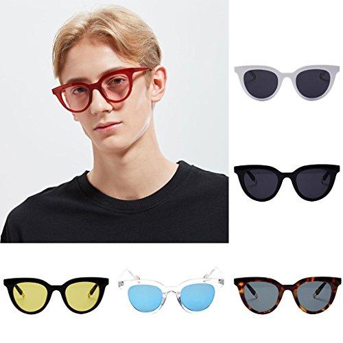 lunettes de soleil mesdames les pop stars lunettes nouveau cycle des lunettes de soleil les coréens visage rond les yeuxtransparent en poudre (tissu) tZcYay