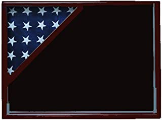 product image for Shadow Box for 3x5 Flag, Cherry