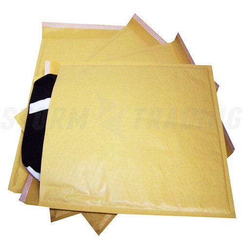 10 Gold Padded Bubble Envelopes A3 340 x 445mm STG 10 (K) STORM TRADING GROUP