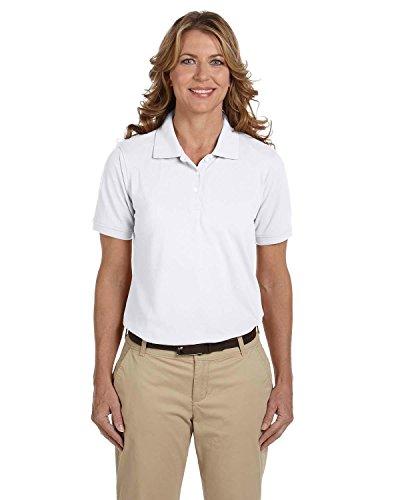 Harriton Ladies' 5 oz. Easy Blend Polo>XL WHITE M265W