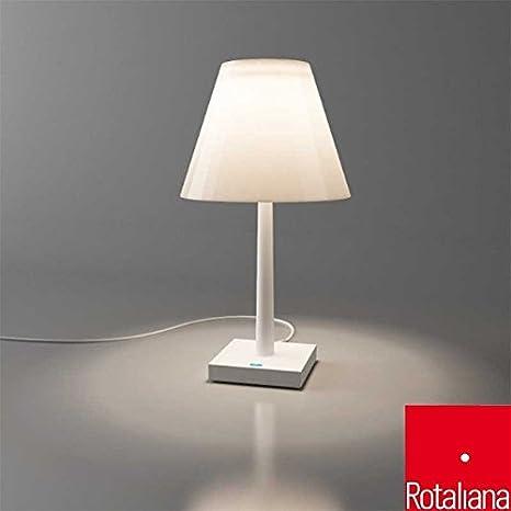 Lampade A Batteria Design.Rotaliana Dina Led 7w 2700k 365lm Lampada Da Tavolo Con