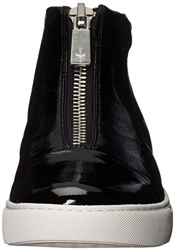 Kenneth Cole New York Donna Kayla High Top Zip Frontale Sneaker Fashion Nera