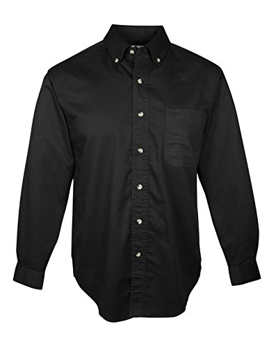 Tri-Mountain Men's Professional Blend Twill Shirt with Teflon Stain Resistant