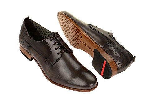 LLOYD17-188-18 - zapatos con cordones Hombre gris