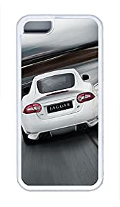 5C Case, iPhone 5C Case Galaxy Pattern 2010 Jaguar Xkr Cute iPhone 5C Shoockproof White Soft Case Full Body Hybrid Impact Armor Defender Cover protective Case for iPhone 5C