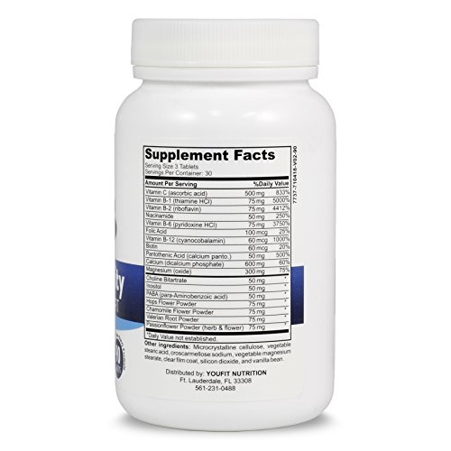 Ingredients List | Youfit Trainquility