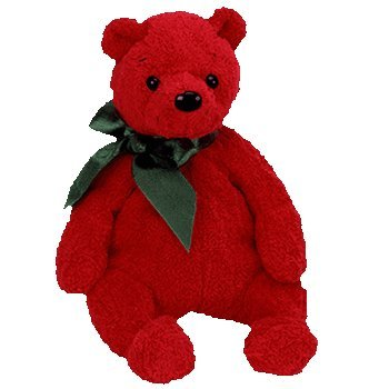 Amazon.com  Ty Beanie Babies - Mistletoe the Bear  Toy   Toys   Games a60e062e36f