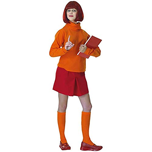 Cheap And Creative Halloween Costume Ideas (Standard Velma Costume - Adult Scooby Doo)