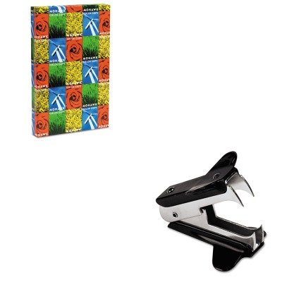 KITMOW36202UNV00700 - Value Kit - Mohawk Color Copy Gloss Paper (MOW36202) and Universal Jaw Style Staple Remover (UNV00700)