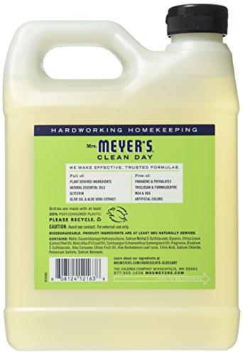 Mrs. Meyer's Liquid Hand Soap Refill, Lemon Verbena, 33 Fluid Ounce