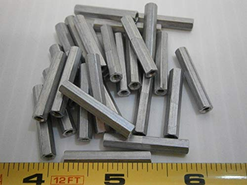 2067-440-A Aluminum 3/16 Hex Female 1-1/8 Standoff Threaded lot of 25#3159 - Quality Assurance from JumpingBolt