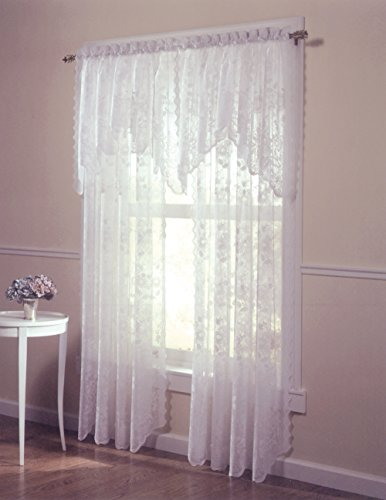 picture of Alison Jacquard Lace Curtain Panel