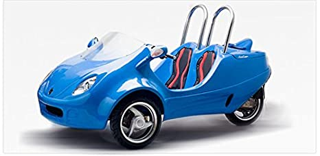 Amazon.com: NUEVO 49 cc Coupe Scoot – Patinete coche ...