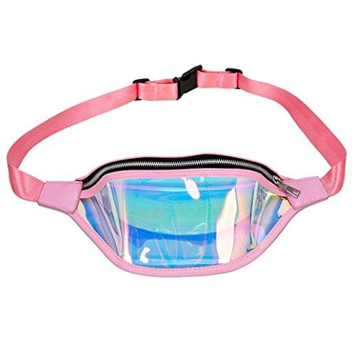 Beach Bag Chest Pink Bag Winkey Bag Cute Fashion Crossbody Bag Women Messenger Waist qdfwtIw