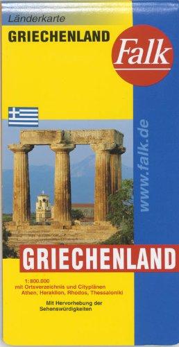 Falk Länderkarte Griechenland 1:750 000