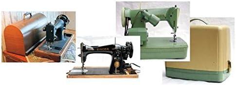 Pedal Rheostat para máquina de coser antigua, antigua, vintage, 3 agujeros, Banana aka