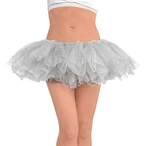 Amscan Tutu - Adult, Party Accessory, Party Accessory, Silver -