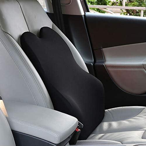 I-Light-U Coussins de Voiture Taille Coussin Lombaire arrière Coton mémoire siège Auto Mode Simple et Quatre Saisons Universelle Taille: 53 * 35 * 15cm