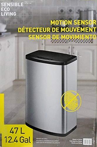 Sensible Evo Living Motion Sensor Trash Can by Sensible Eco Living