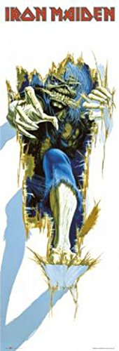 Set: Iron Maiden, Eddie Door Poster And art1 Collection